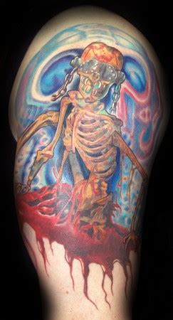 megadeth tribute by marvin silva tattoos
