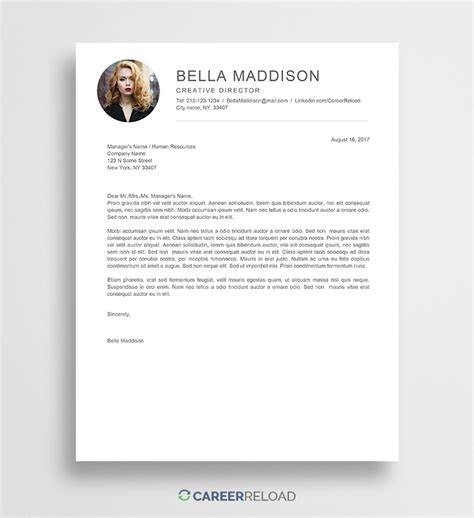 Download Free Resume Templates Free Resources For Job Seekers Letter Templates For
