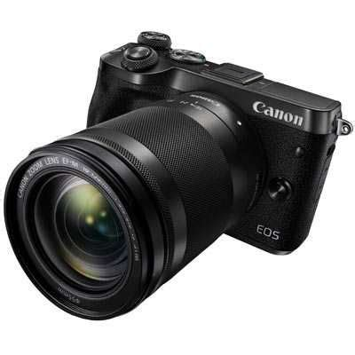 canon eos m6 digital camera with 18 150mm lens | uk camera ltd