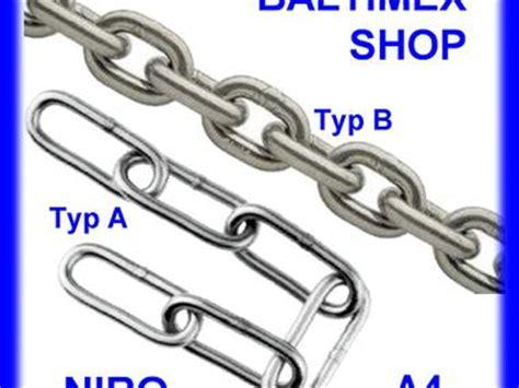 cadena inox 4mm 2 metros cadena inoxidable a4 3mm equipo cubierta 48525
