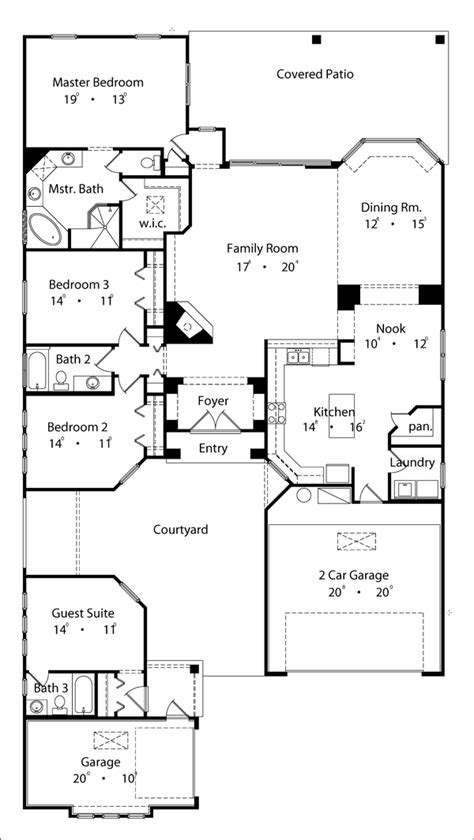 Mediterranean Home Plans house plan 63290 at familyhomeplans com