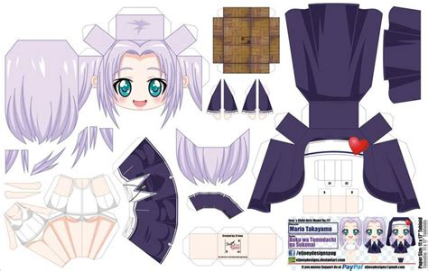 Papercraft Anime - 55 best images about anime papercrafts