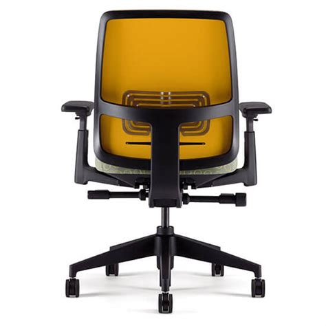 mustard yellow desk chair discover haworth s lively desk chair