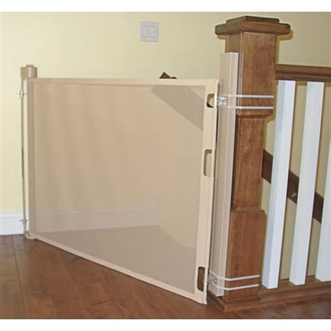 double banister baby gate retract a gate online store shop for extra wide