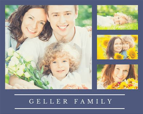 Create Your Own Family Photo Collage Family Photo Collage Templates