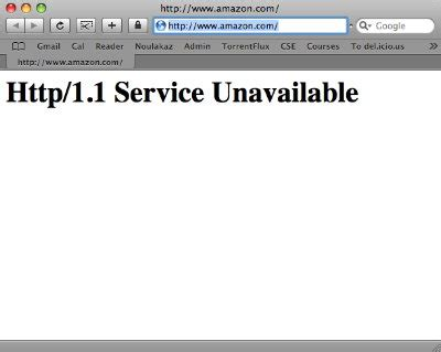 is amazon down right now noulakaz amazon com is down