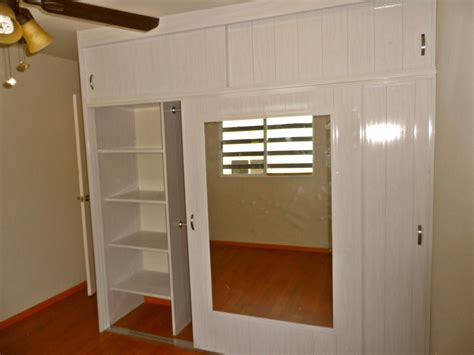 Pvc Closet by Closet De Pvc Corredizo Reforzado Con Pared Falsa De Pvc