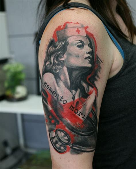 old school nurse tattoo meaning 15 ink designs for nurse tattoos nursebuff