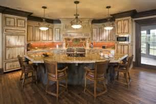 fancy shaped kitchen island drury designs