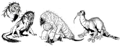 creature design imp by christopheronciu preliminary creature designs by ink imp on deviantart