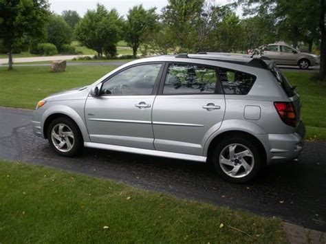 small engine maintenance and repair 2006 pontiac vibe security system purchase used 2006 pontiac vibe base wagon 4 door 1 8l in woodstock illinois united states