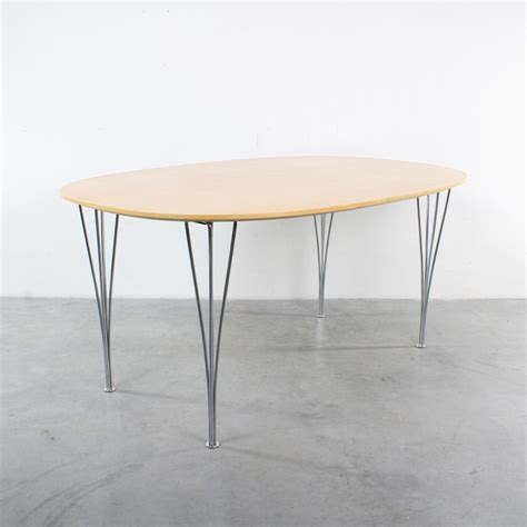elliptical dining table elliptical birch dining table by arne jacobsen piet hein