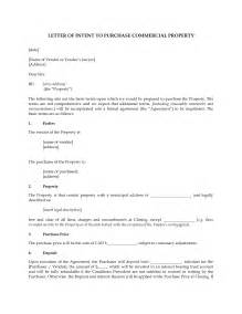 Commercial Lease Buyout Letter Sle Offer Letter For House Purchase Real Estate Letter Of Intent 10 Free Word Pdf Format