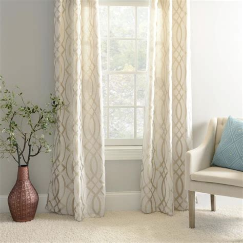 Patterned Drapery Panels Curtain Glamorous Pattern Curtains Ideas Valance Curtain