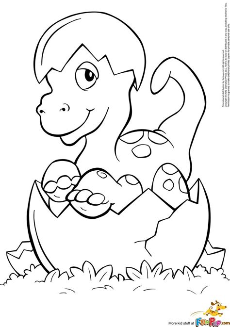 coloring pages of baby dinosaurs hatched baby dino coloring page free printable coloring