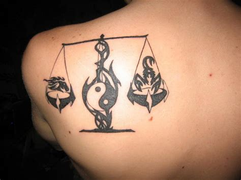 tattoo meaning balance 30 cool libra tattoo designs design scorpion and signs