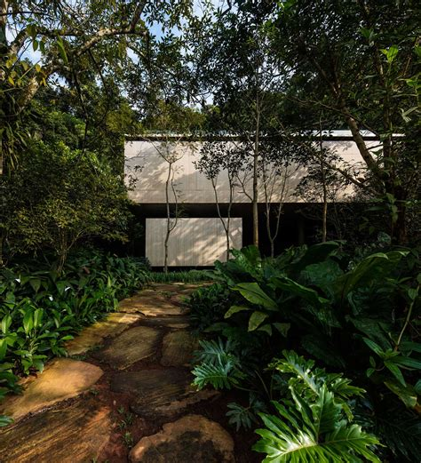 house with studio jungle house casa na mata by studio mk27 yellowtrace