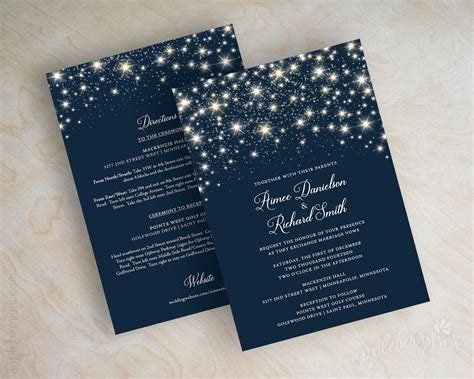 blue themed wedding invitations wedding invitations navy blue wedding invitations
