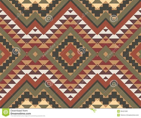 seamless aztec pattern seamless colorful aztec pattern royalty free stock images