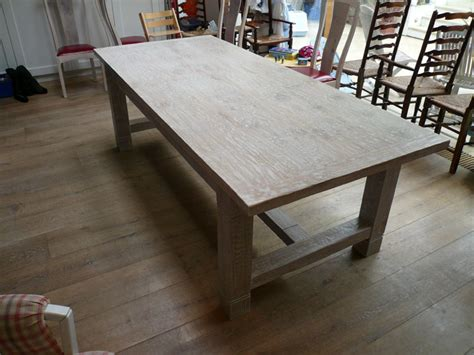 Handmade Dining Tables Uk - handmade dining tables uk lime washed handmade oak