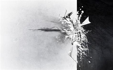 White And black and white abstract 555870 walldevil