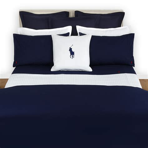 ralph lauren home polo player duvet cover navy at amara