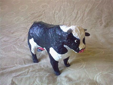 How To Make A Paper Mache Cow - s papier mache cow by willziakds on deviantart