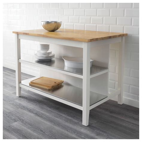 ikea white kitchen island stenstorp kitchen island white oak 126x79 cm ikea