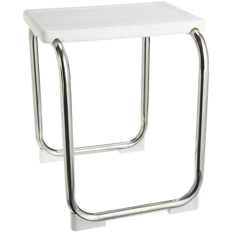 stainless steel shower seat stainless steel shower bench in tub caddies and accessories