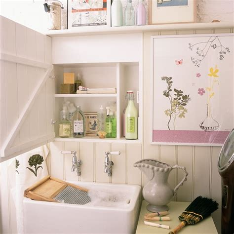 Country Laundry Room Decorating Ideas Country Utility Room Pictures House To Home