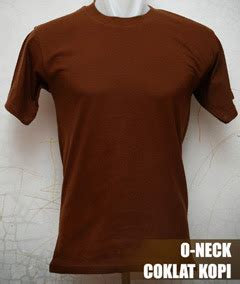 kaos polos o neck pendek 171 kaos polos kece murah