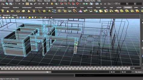 Best Software To Design A House architectural modeling in maya youtube