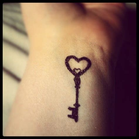 key tattoos on wrist lock key on wrist in memorium