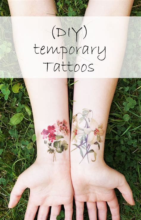 diy temporary tattoo temporary diy tattoos jonesing for crafts