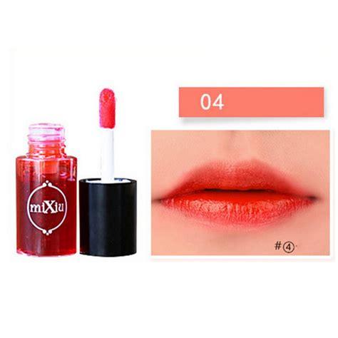 korean waterproof lipstick colorful liquid lip gloss water tint cosmetic make up ebay