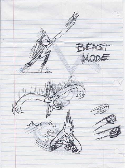 doodle beast beast mode darkness doodle 1 by king doodles on deviantart