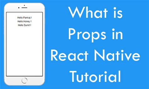 react native style tutorial what is props in react native explained tutorial with exle