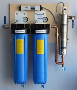 water filtration ultraviolet light sterilizers sediment