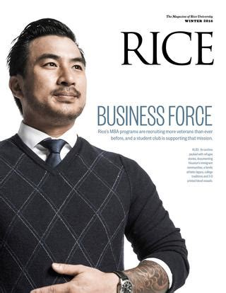 Rice Mba Clubs by Rice Winter 2016 By Rice Issuu