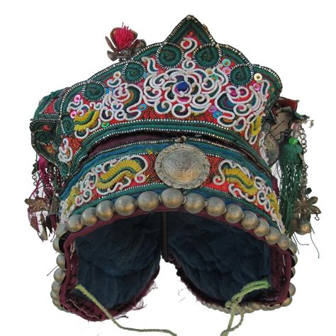 Hat Dng 446 liping dong festival hat vintage and antique children s hats textile treasures