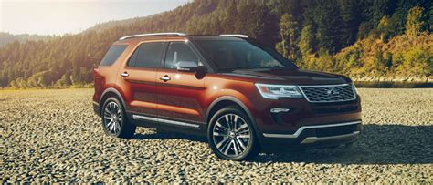 2018 Ford Explorer Pictures