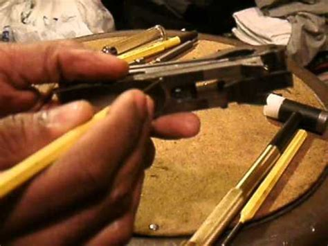 winchester 1897 receiver disassembly, part 2: carrier