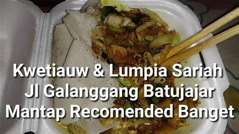 Zanira Maxy 4 makan kwetiauw dan lumpia basah sariah galanggang