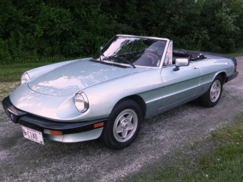 1983 Alfa Romeo Spider by Sell Used 1983 Alfa Romeo Spider In Rockport Maine