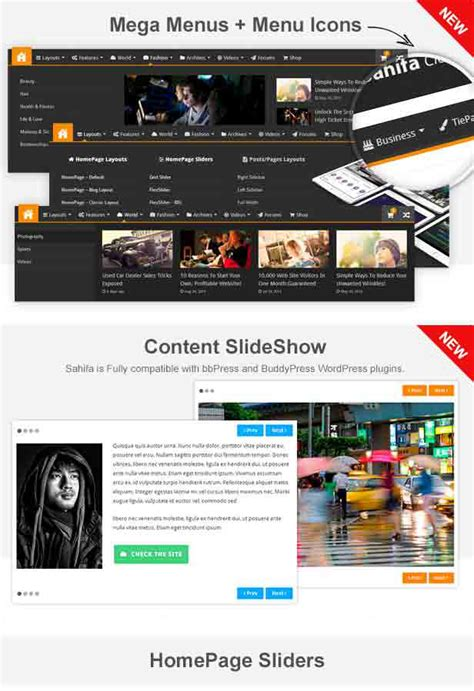 sahifa theme menu icon sahifa responsive wordpress news magazine blog theme