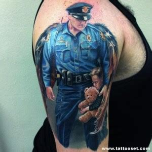 tattoo quotes for police quotesgram