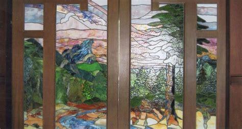 porte con vetri colorati come realizzare porte con vetri lavorare il vetro