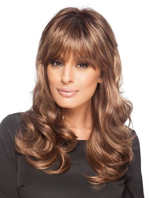 Wig Panjang Wavy 236 pretty wig by wille curly wigs the