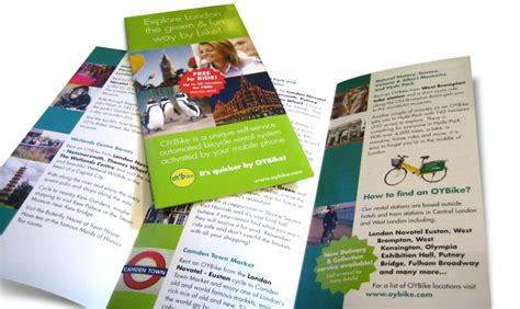 leaflet design and printing london graphic designers chesterfield derbyshire creative heights
