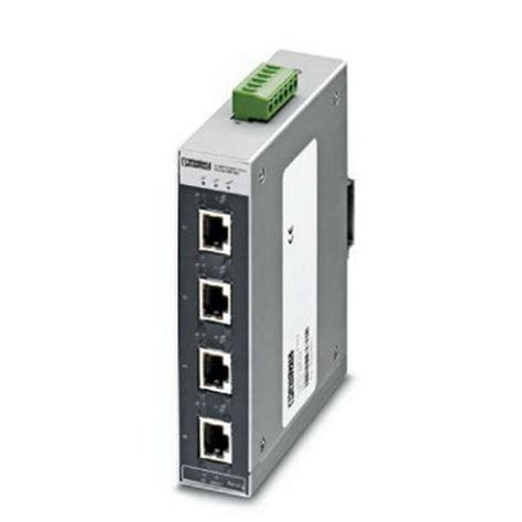 Ethernet Switch 4 Port contact 2891004 4tx fx autocrossing fl switch sfnt rj45 industrial ethernet